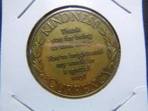 KINDNESS CURRENCY 1999 ROMAN INC TOKEN