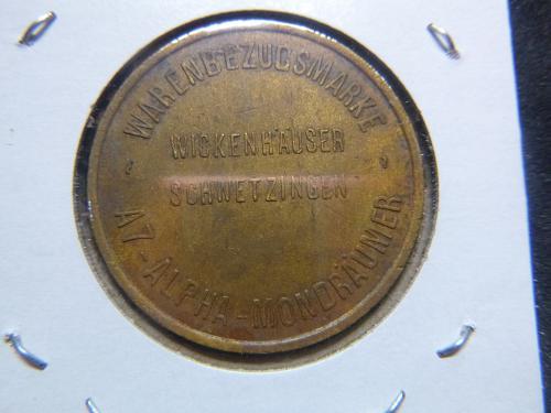 GERMAN SPIEL MARKE - A7 ALPHA MONDRAUMER AUTO - 26MM COIN