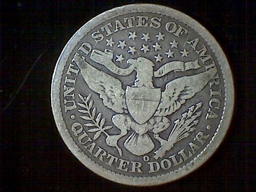 1894-o Barber Quarter