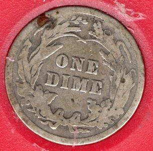 1913 P Barber Dimes - #4a
