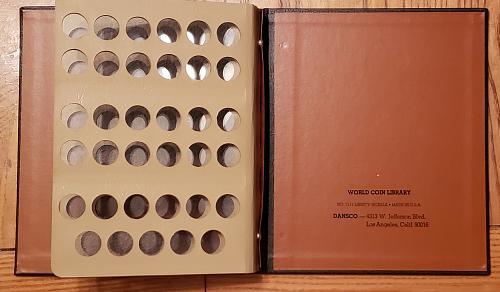 Dansco 7111Album for Liberty Nickels 1883-1912-S