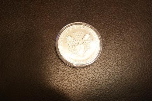 Beautiful 1994 Silver Eagle
