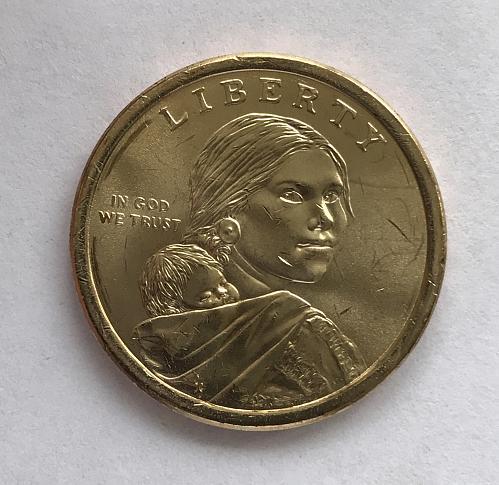 2018 P BU Native American Dollar--Jim Thorpe - Wa-Tho-Huk (0209-3)