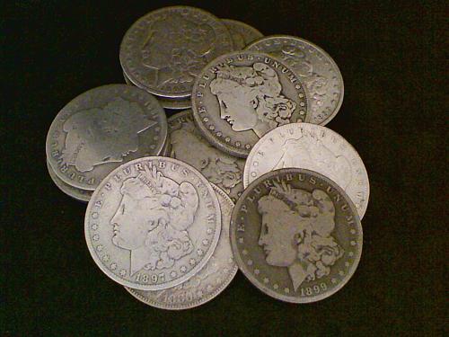 20 Morgan Silver Dollar ~ Culls or better, much better ~ 90% Silver