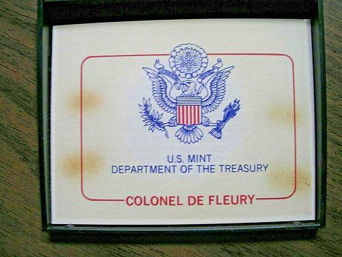 Americas First Colonel De Fleury
