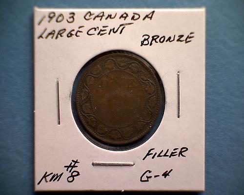 1903 CANADA LARGE CENT  KING EDWARD V11
