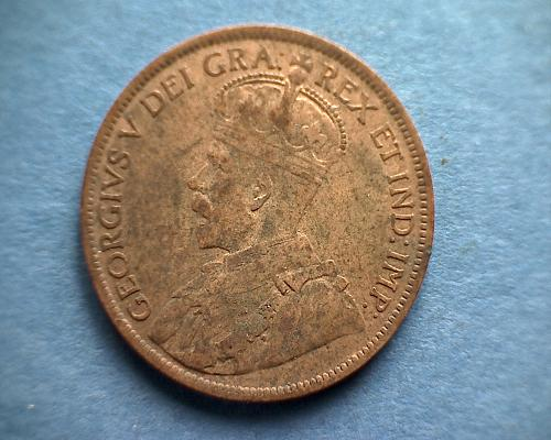 1919 CANADA LARGE CENTS  KING GEORGE V