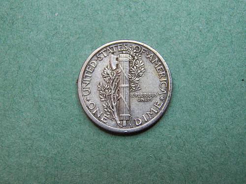 1916 P Mercury Dime Extra Fine Coin   x94