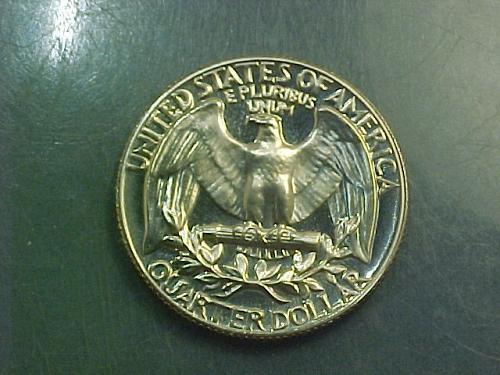 1971 S WASHINGTON QUARTER     aj76