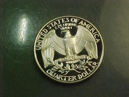 1991 S WASHINGTON QUARTER     aj83