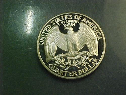 1993 S WASHINGTON QUARTER     aj84