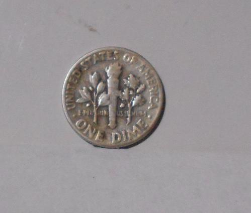 1958 Roosevelt circulated dime