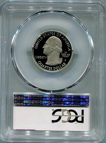 """2012 - S  Denali  """"SILVER""""  QUARTER  PCGS   PR69DCAM"""