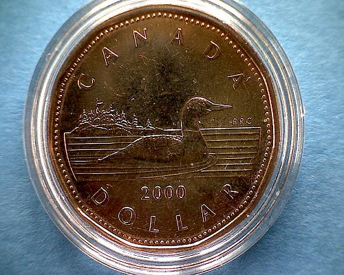 2000 CANADA STAMP AND LOON COMMEMORATIVE COLLECTION