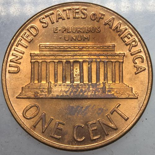 1969 S Lincoln Memorial Cent#3 Beautifully Toned