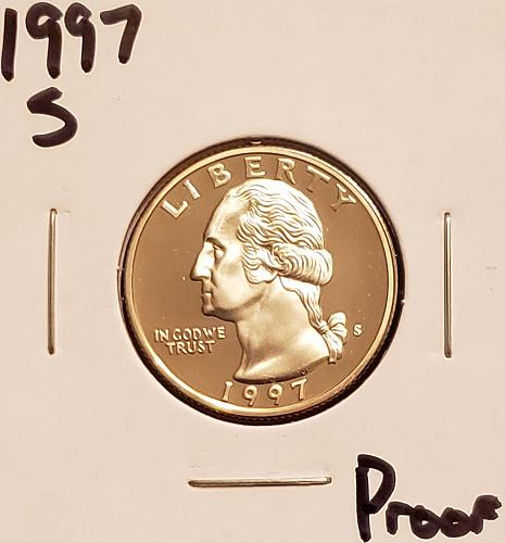 1997 S Washington Quarter