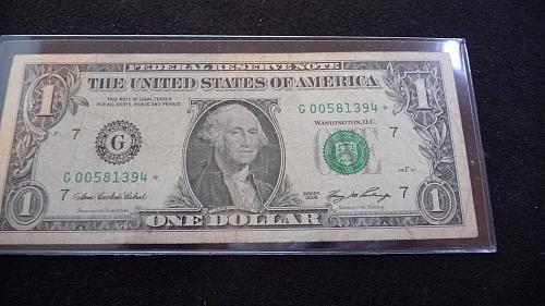 2006 $1 DOLLAR *STAR* NOTE IN FINE CONDITION  B-27-21