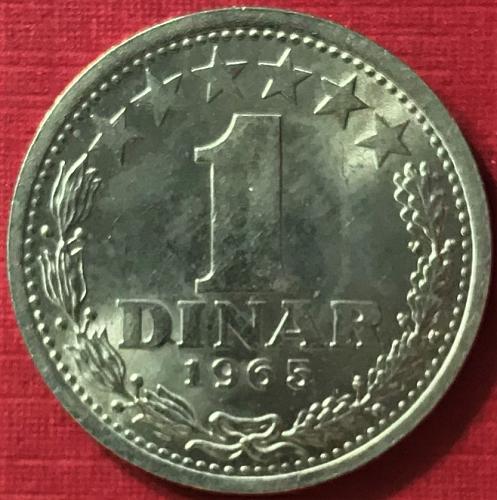 Yugoslavia - 1965 - 1 Dinar [#5]