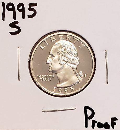 1995 S Washington Quarter