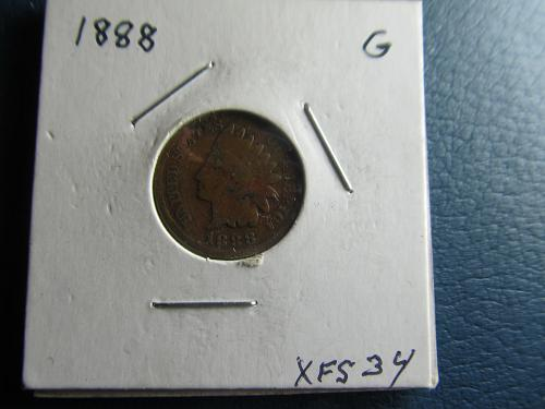 1888 P Indian Head Cent