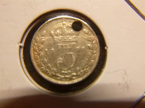 GREAT BRITIAN 1890 3 PENCE