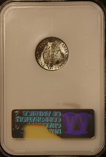 1944 Mercury Dime MS65FB **Full Bands** Beautiful Coin!