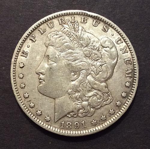 1891 O Morgan Dollar, see pics and description!