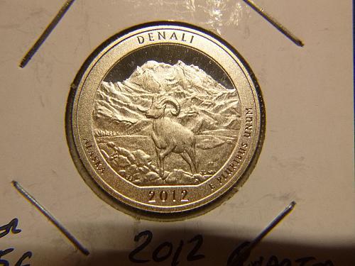 2012 S Denali America The Beautiful Quarters : Silver Proof National Park Quarte
