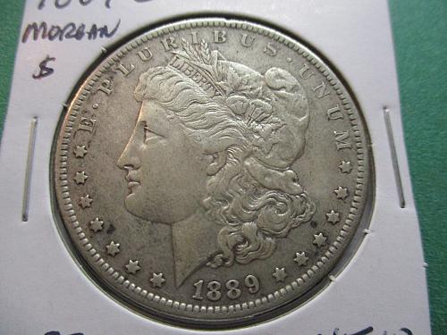 1889-O  XF40 Morgan Dollar.  Item: DM 89O-05.