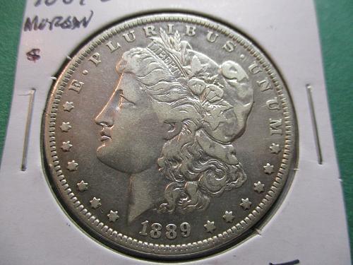 1889-O  F15 Morgan Dollar.  Item: DM 89O-06.