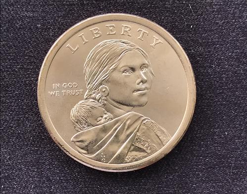 2018 P BU Native American Dollar--Jim Thorpe - Wa-Tho-Huk (0302-6)
