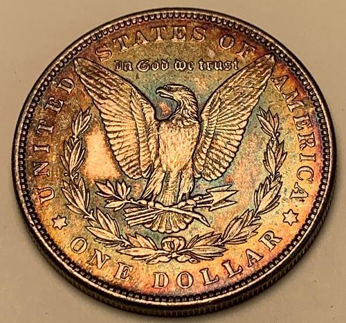 1889 Morgan Silver Dollar AU55 [MDL 572]