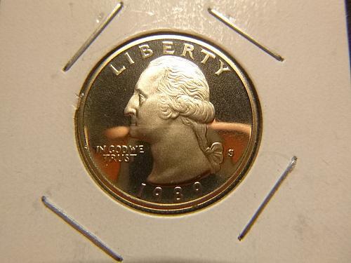 1989 S Washington Quarters Clad Composition