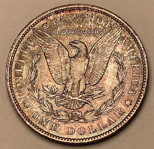 1885-O Morgan Silver Dollar AU [MDL 573]