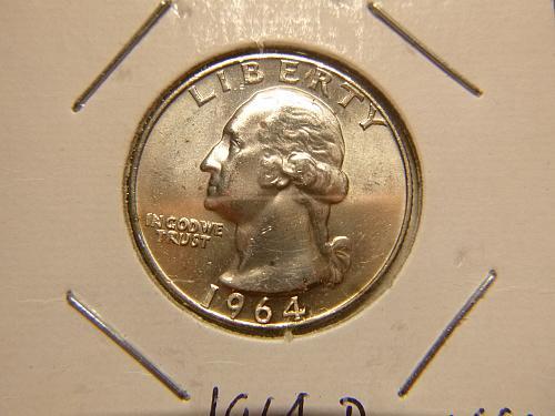 1964 Washington Quarters Silver Composition