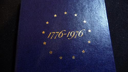 1776-1976-S US BICENTENNIAL SILVER DOLLAR SET IN BU PROOF IN HOLDER C-4-21