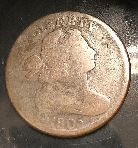 1805 Draped Bust One Cent