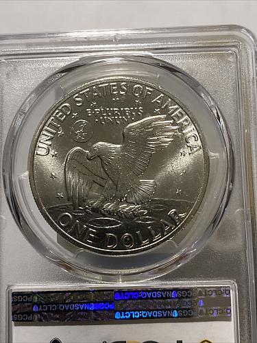 1971 S $1 Silver Ike Eisenhower Dollar PCGS MS66