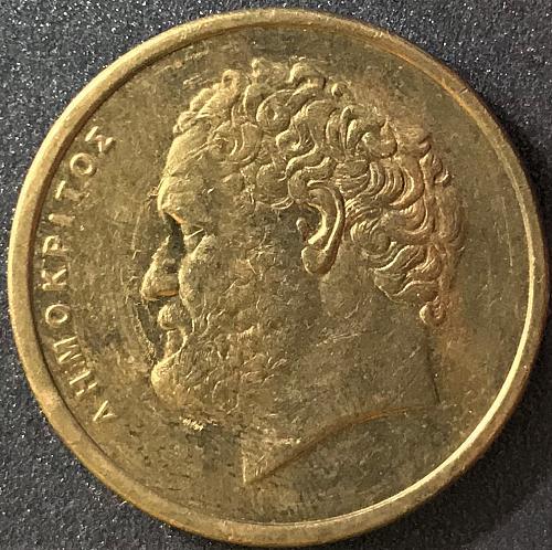 Greece - 1990 - 10 Drachma [#4]