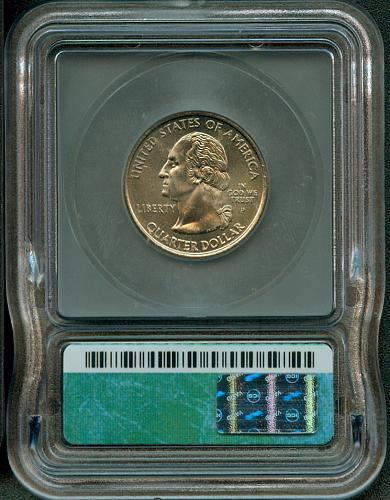 2000 - P  VERMONT Statehood Quarter  ICG  MS - 67