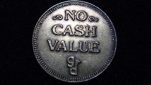 NO CASH VALUE TOKEN IN AU CONDITION  C-5-21