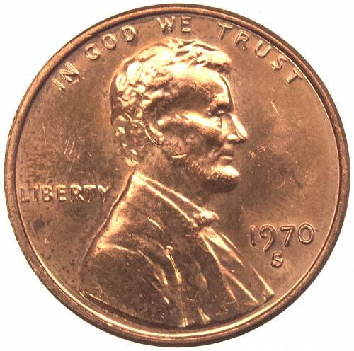 1970 S Lincoln Memorial Cent Large Date#13 RPM-001