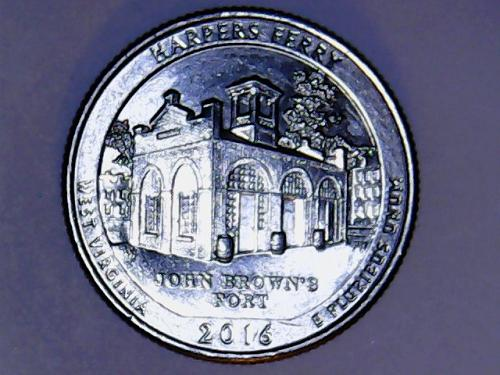 2016 D Harpers Ferry   America The Beautiful  Quarter  See Pictures