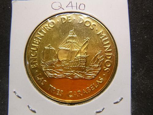 ENCUENTRO DE DOS MUNDOS 1492-1992 OVINTO CENTENARIO