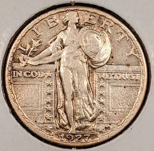 1927-P Standing Liberty Quarter
