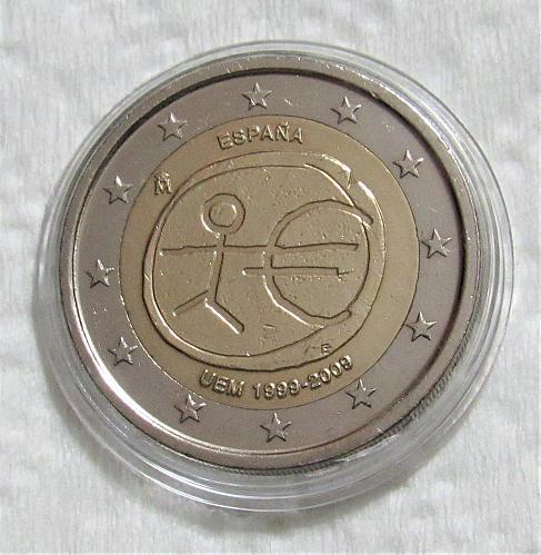 2009 Spain Commemorative 2 Euro