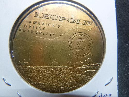 100 YEARS 1907-2007 LEOPOLD AMERICAN OPTICS TOKEN