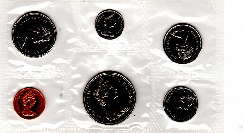 1968 CANADA 6 COIN PROOF-LIKE SET