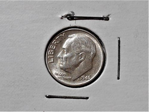 """1946 """"P"""" Uncirculated Roosevelt dime"""