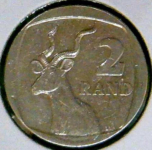 2008 2 Rand Aforika Borwa - South Africa.  V3P3R1
